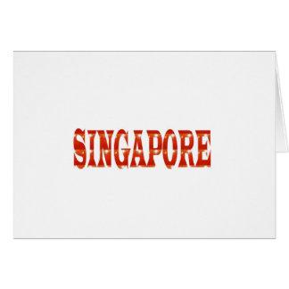 シンガポール: 多様性を祝う国家威信n カード