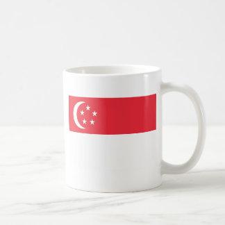 シンガポール-新加坡国旗-の旗Bendera Singapura コーヒーマグカップ