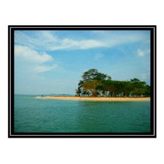 シンガポール- Pulau Ubin ポストカード