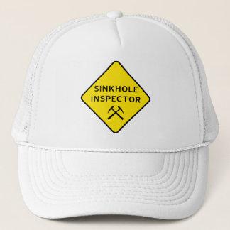 シンクホールの検査官の帽子 キャップ