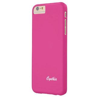 シンシアの無地のなピンクのiPhone 6のプラスの場合 Barely There iPhone 6 Plus ケース