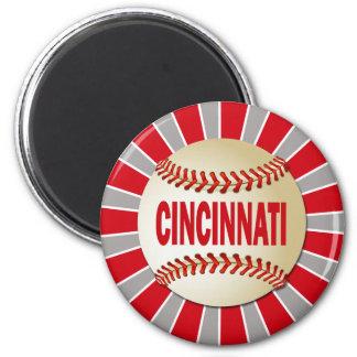 シンシナチのレトロの野球 マグネット