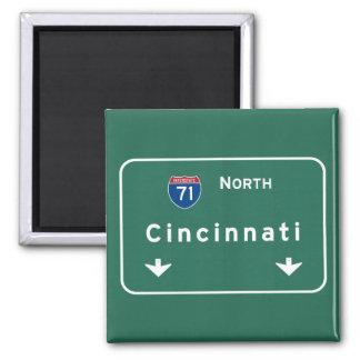 シンシナチオハイオ州のoh州間幹線道路の高速道路: マグネット