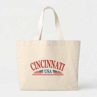シンシナチオハイオ州米国 ラージトートバッグ