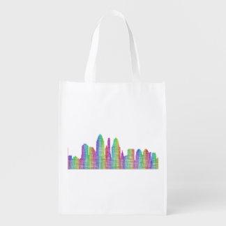 シンシナチ都市スカイライン エコバッグ