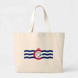 シンシナチ都市旗 ラージトートバッグ