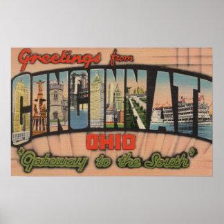シンシナチ、オハイオ州(南への出入口) ポスター