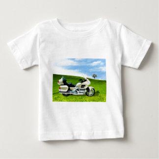 シンディジョンソンのオートバイ ベビーTシャツ