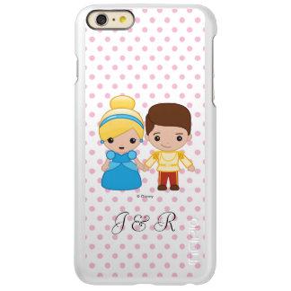 シンデレラおよびEmoji白馬の王子様 Incipio Feather Shine iPhone 6 Plusケース