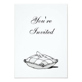 シンデレラのスリッパのカスタムな誕生日の招待状 カード