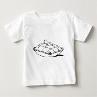 シンデレラのスリッパのヴィンテージのおとぎ話の芸術 ベビーTシャツ
