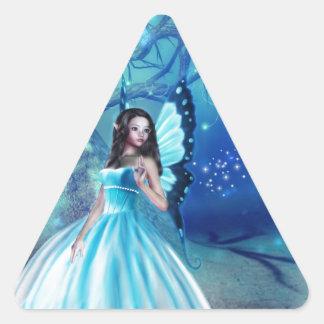 シンデレラの妖精 三角形シール