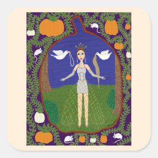 シンデレラ(おとぎ話のファッション#2) スクエアシール