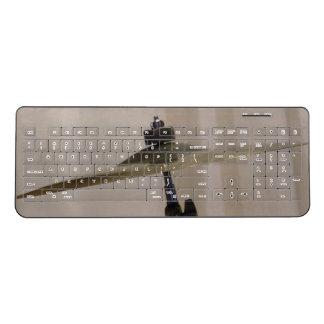 シンバルの無線電信のキーボード ワイヤレスキーボード