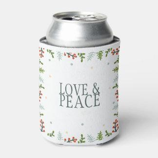 シンプルけれどもエレガントなクリスマスのリースのクーラーボックス 缶クーラー