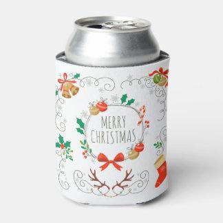 シンプルけれどもエレガントなクリスマスの装飾のクーラーボックス 缶クーラー