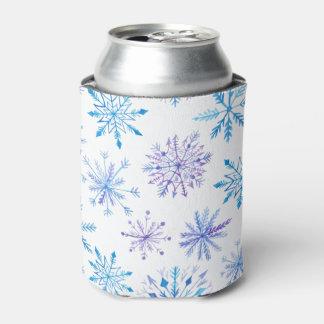 シンプルけれどもエレガントな雪片 のクーラーボックス 缶クーラー