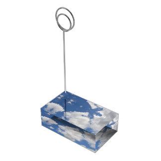 シンプルでお洒落な雲のテーブルカードホルダー テーブルカードホルダー