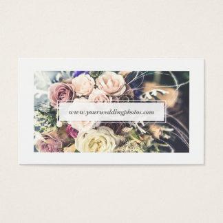 シンプルできれいでモダンで白い灰色のミニマルな写真撮影 名刺
