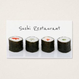 シンプルでモダンな寿司の名刺 名刺
