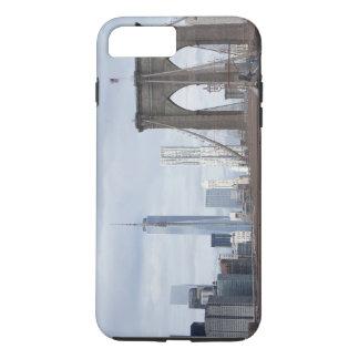 シンプルで名前入りなブルックリン橋 iPhone 8 PLUS/7 PLUSケース