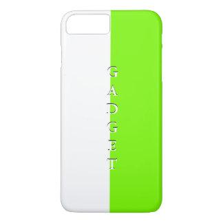 シンプルで粋なiPhoneの場合の春のライムの白3 iPhone 8 Plus/7 Plusケース