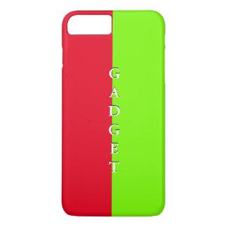 シンプルで粋なiPhoneの場合の春のライムの赤4 iPhone 8 Plus/7 Plusケース