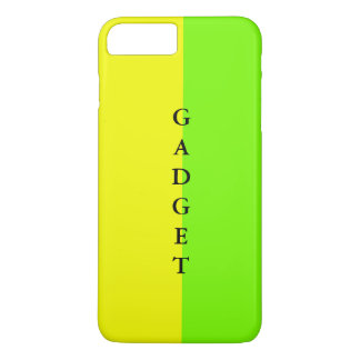 シンプルで粋なiPhoneの場合の春のライムの黄色1 iPhone 8 Plus/7 Plusケース