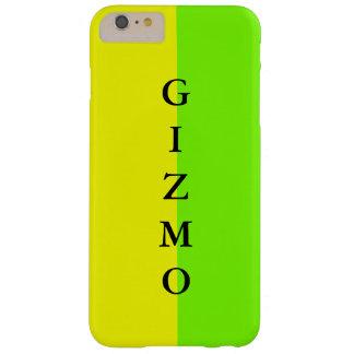 シンプルで粋なiPhoneの場合の春のライムの黄色23 Barely There iPhone 6 Plus ケース