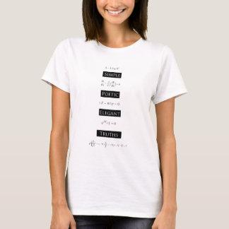 シンプルで詩的でエレガントな真実 Tシャツ