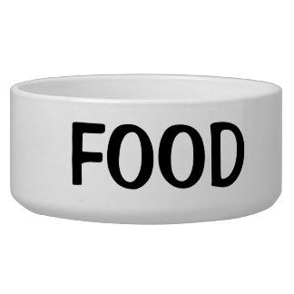 シンプルで黒い食糧文字