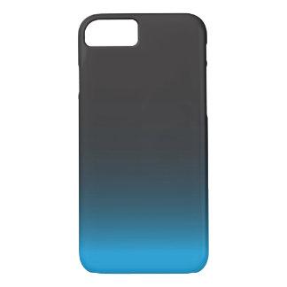 シンプルで黒くおよび青のiPhone 7の箱 iPhone 8/7ケース
