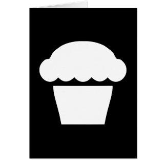 シンプルなカップケーキ/マフィン カード