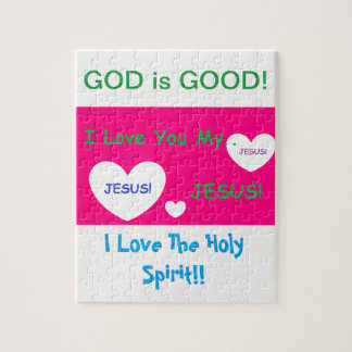 シンプルなキリスト教の子供のパズル ジグソーパズル