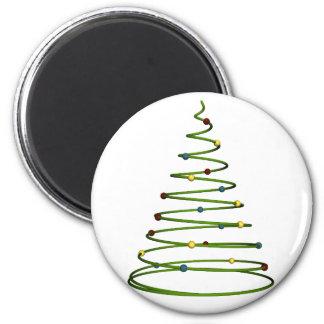 シンプルなクリスマスツリーのデザインの磁石 マグネット