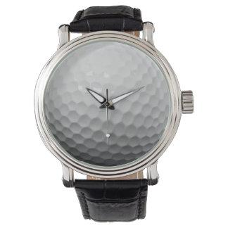 シンプルなゴルフ・ボール 腕時計