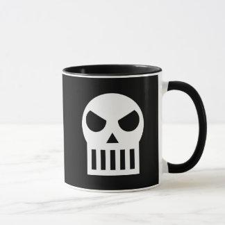 シンプルなスカル マグカップ