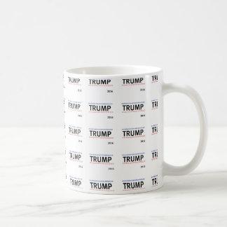 シンプルなドナルド・トランプ2016のタイルのマグ コーヒーマグカップ