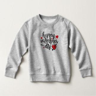 シンプルなハッピーバレンタインデー のスエットシャツ スウェットシャツ