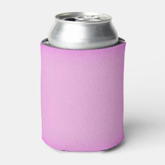 シンプルなピンクのきらめく 缶クーラー