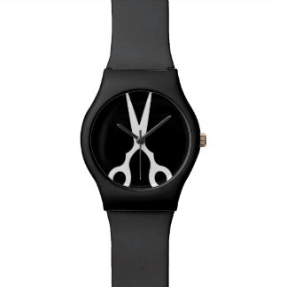 シンプルなベクトルは切ります(あなた自身の色を選んで下さい) 腕時計