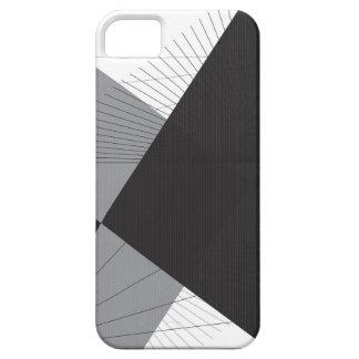シンプルなラインおよび三角形 iPhone SE/5/5s ケース