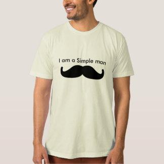 シンプルな人 Tシャツ