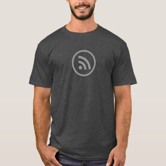 シンプルな信号アイコンワイシャツ Tシャツ