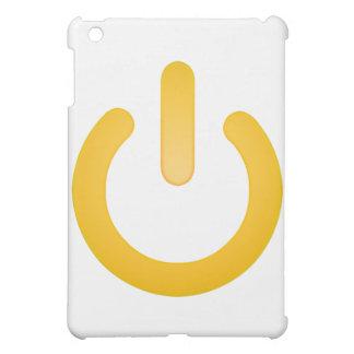 シンプルな力ボタン iPad MINIケース