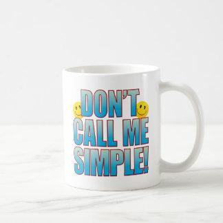 シンプルな呼出し生命B コーヒーマグカップ