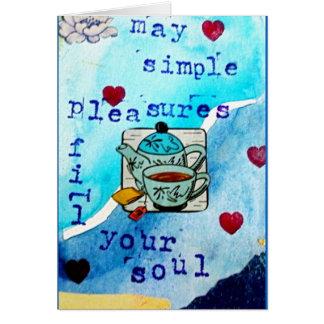 シンプルな喜び-断言カードシリーズ カード