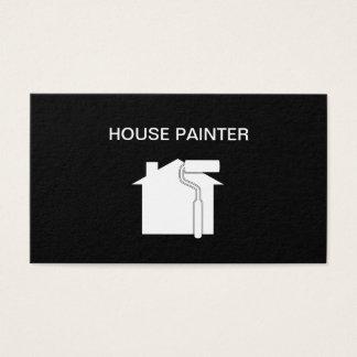 シンプルな塗装業者のデザイン 名刺