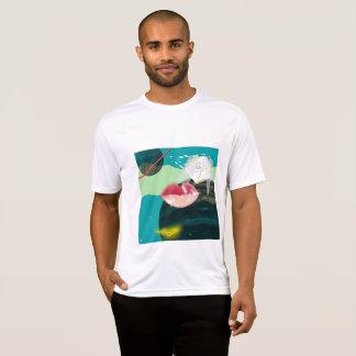 シンプルな宇宙のワイシャツ Tシャツ
