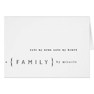 シンプルな採用のノート カード